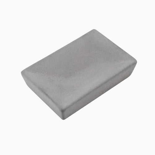 Atticus Rectangle Soap Dish, Concrete