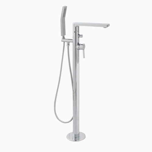 Friedrich Freestanding Bathtub Faucet with Hand Shower