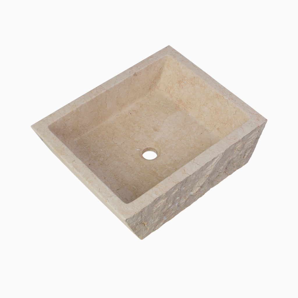 Branson Stone Vessel Sink, Egyptian Yellow Marble | Bathroom Sinks U0026 Sink  Tops | Maykke