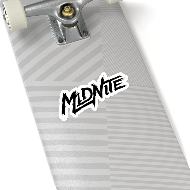 MiDNiTE Black Logo Sticker