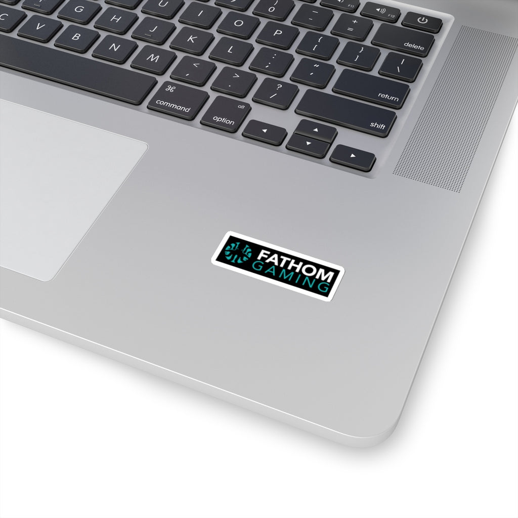 Fathom Gaming Text Logo Sticker