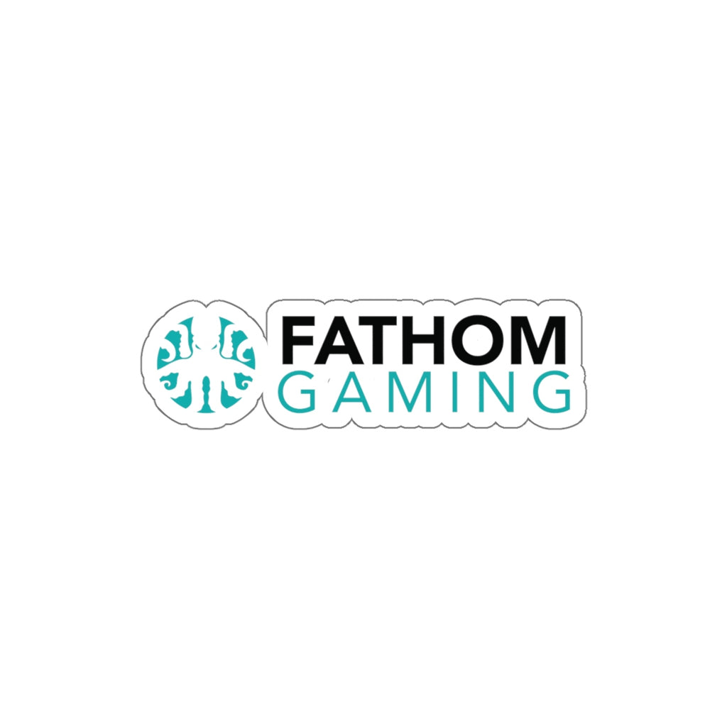 Fathom Gaming Logo Sticker