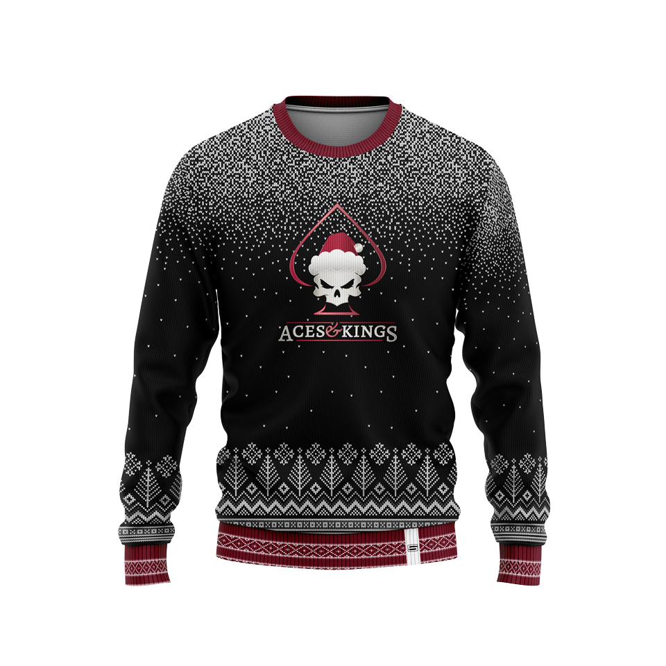 Aces & Kings Christmas Sweater