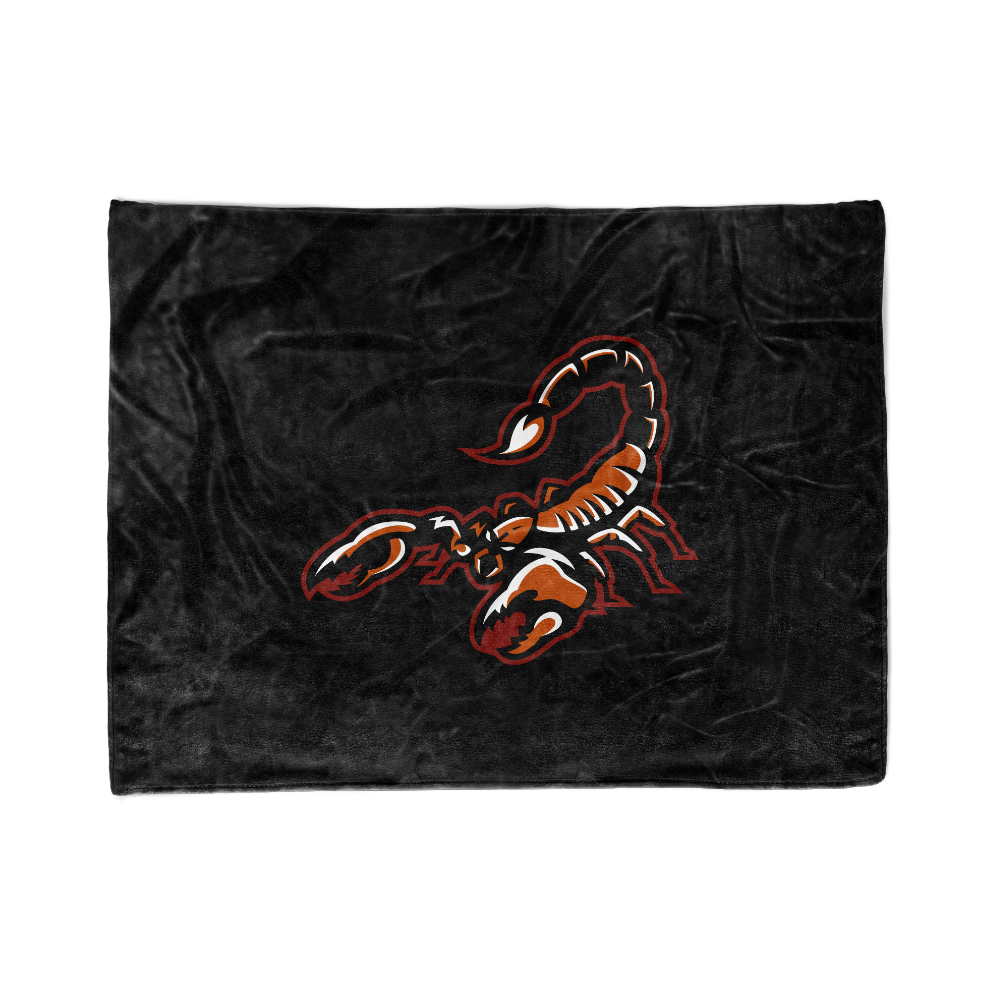 Arizona Scorpions Blanket