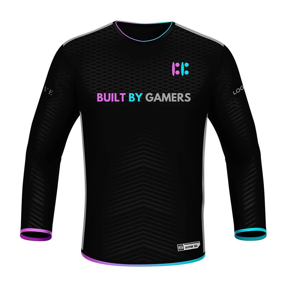Built By Gamers Long Sleeve Standard Jersey