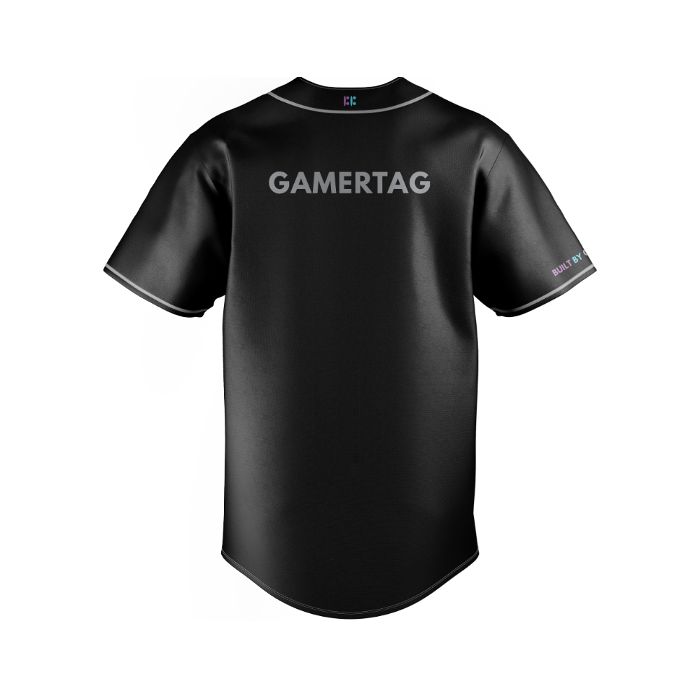 Built By Gamers Baseball Jersey - CUSTOM
