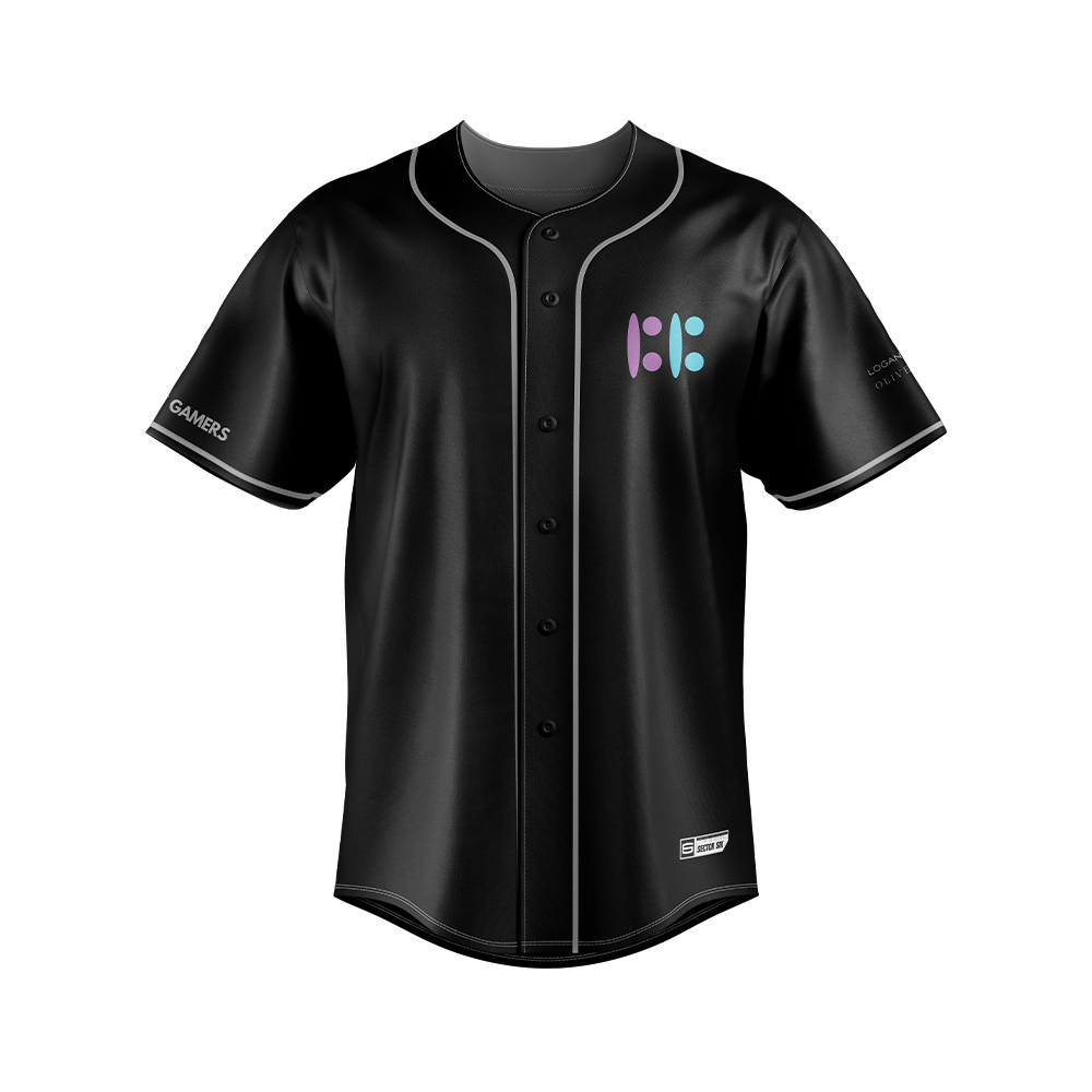 Built By Gamers Baseball Jersey
