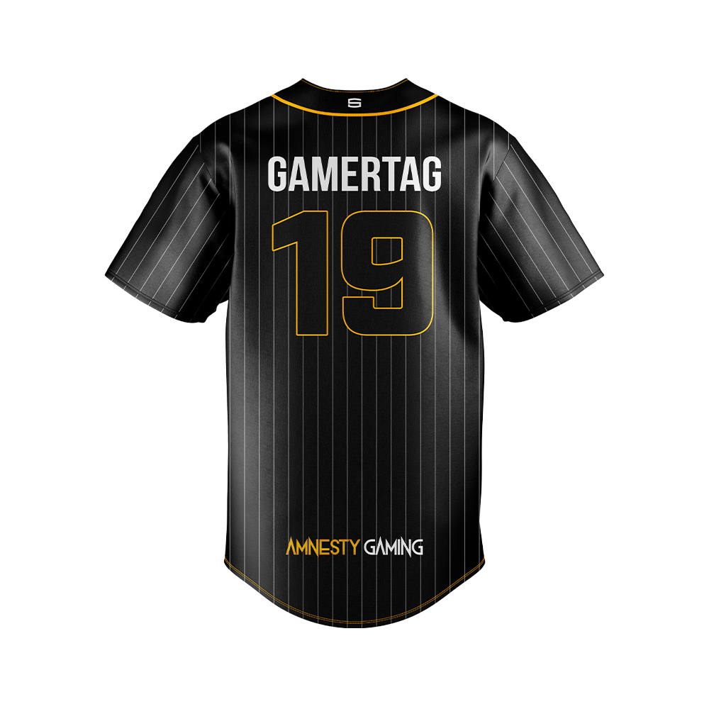 Amnesty Gaming Baseball Jersey