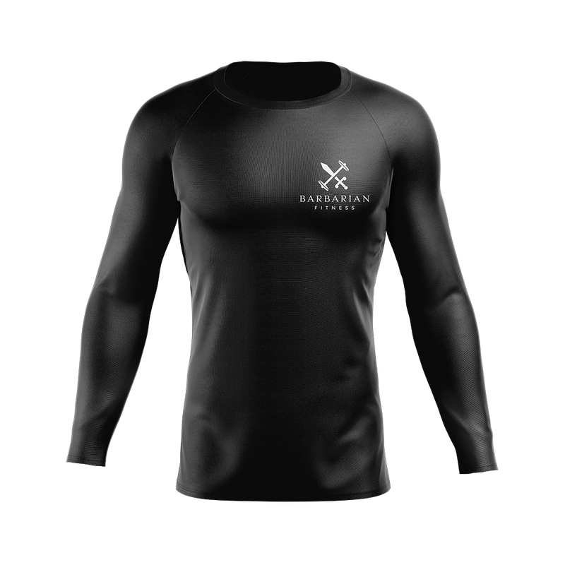 Barbarian Fitness Compression Minimal Shirt