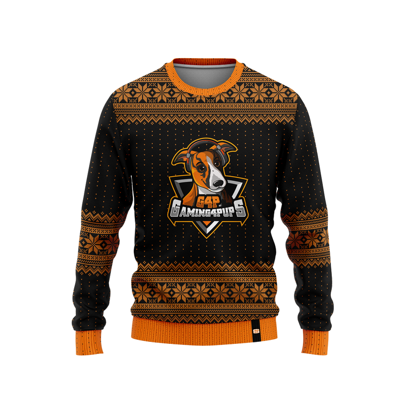 Gaming 4 Pups Christmas Sweater