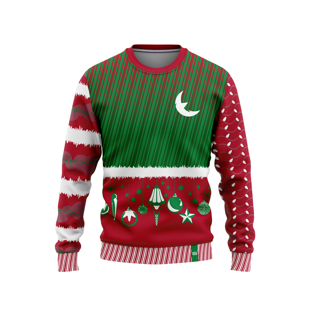 Eclipse Christmas Sweater