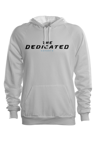 The Dedicated Text Hoodie White