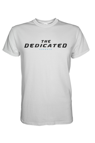 The Dedicated Text Shirt White
