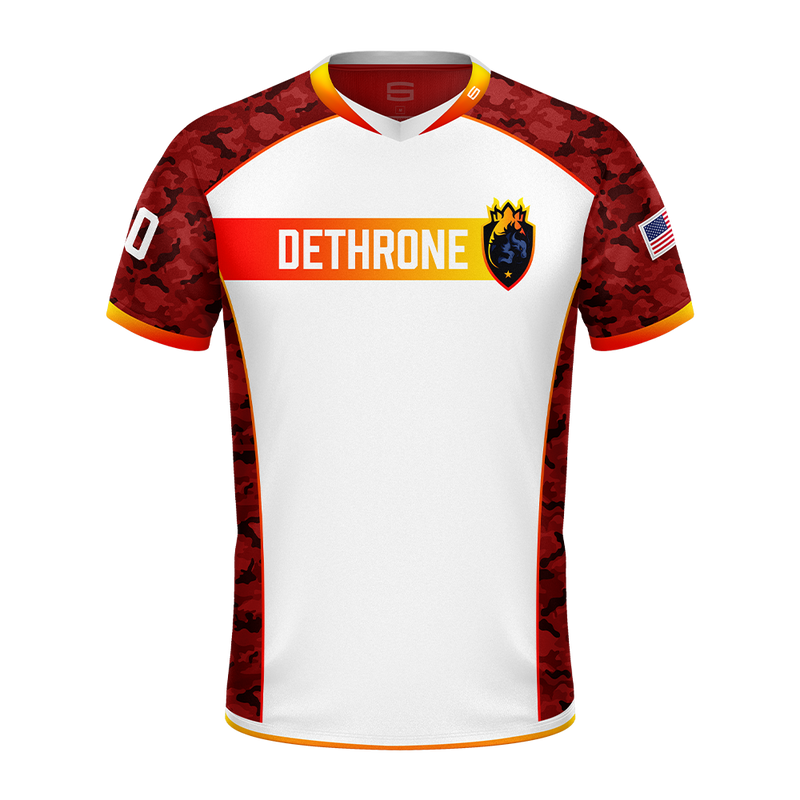 DETHRONE Red Camo Pro Jersey