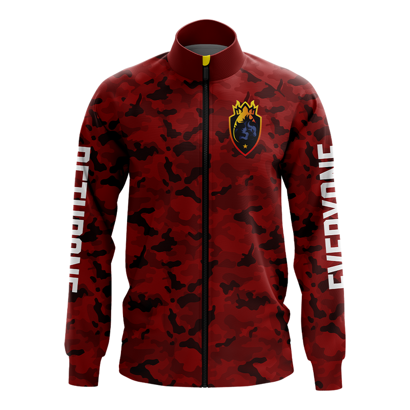 DETHRONE Red Camo Pro Jacket