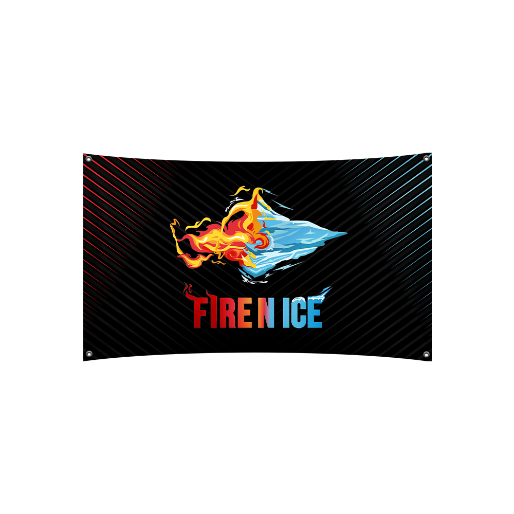 Fire N Ice Flag