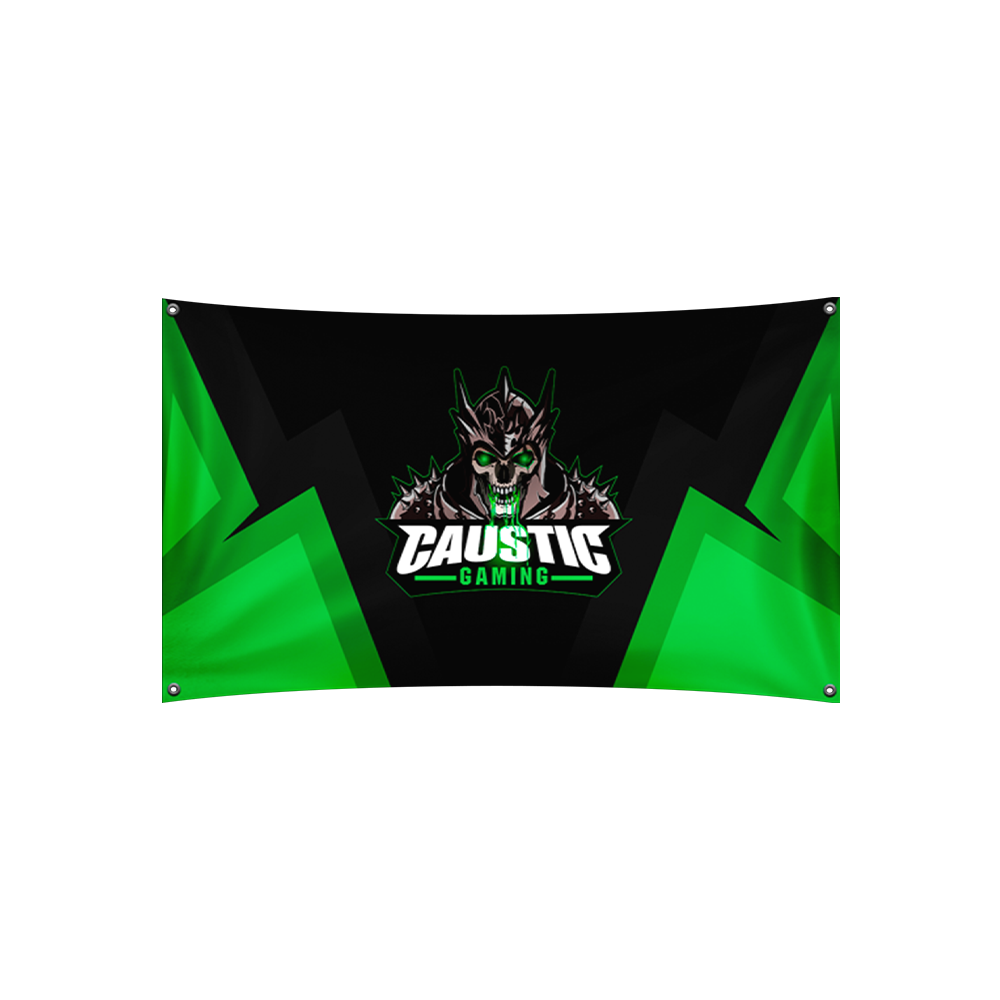 Caustic Gaming Flag
