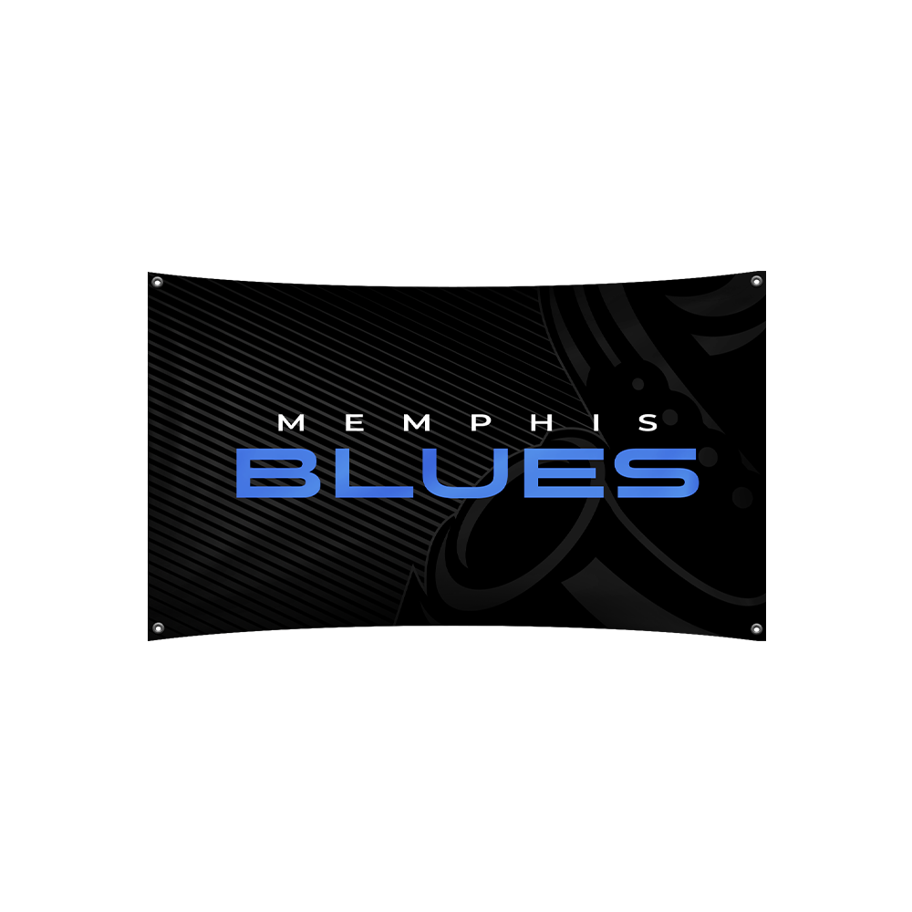 Memphis Blues Flag