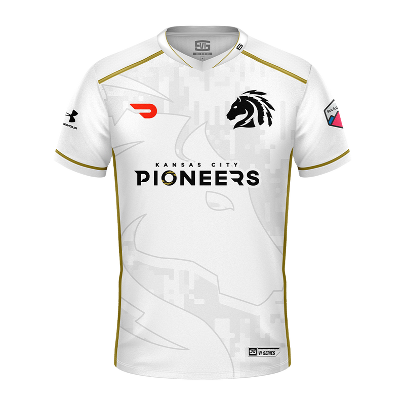 Kansas City Pioneers VI Series Jersey