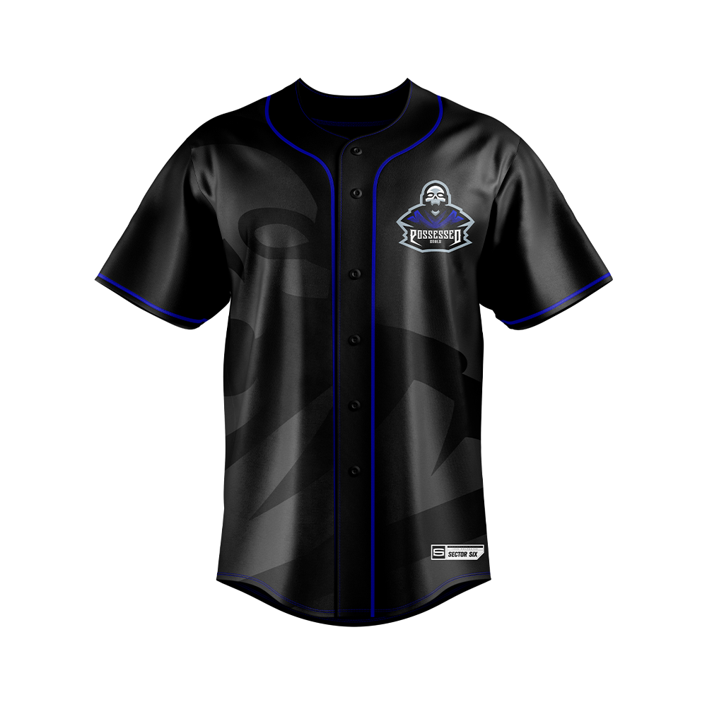 Possessed Souls Baseball Jersey