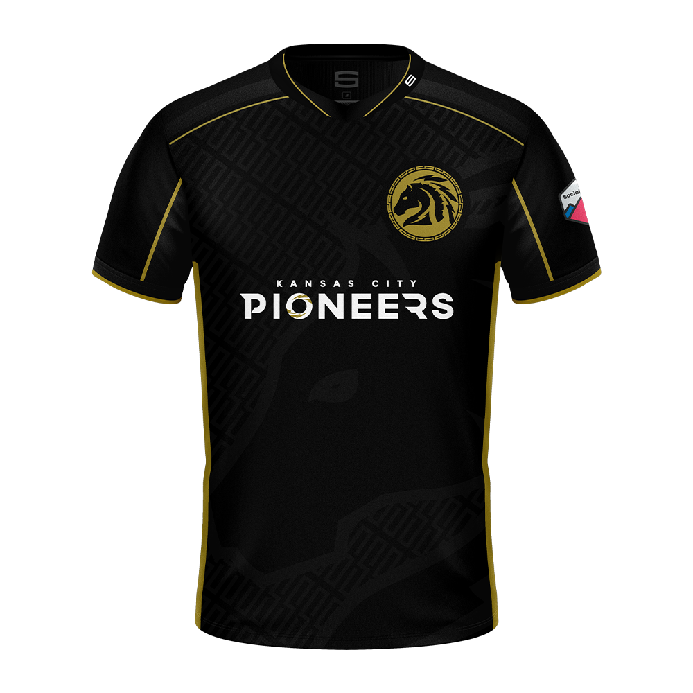 Kansas City Pioneers 2020 Pro Jersey