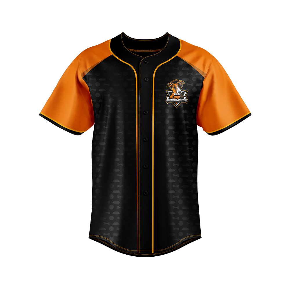 Gaming 4 Pups Baseball Jersey