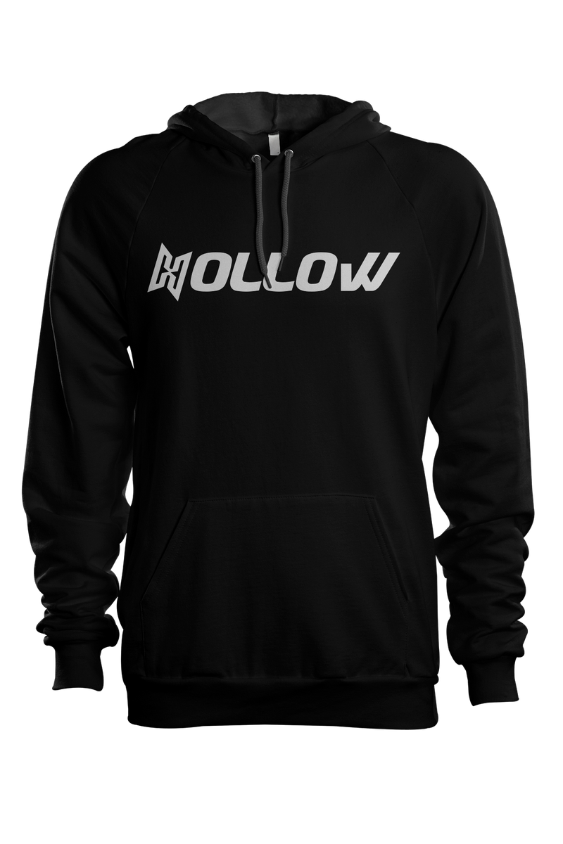Hollow Text Hoodie