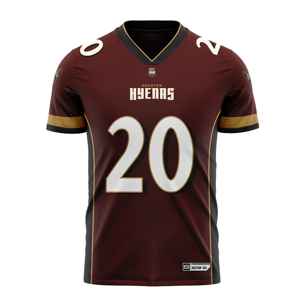 Houston Hyenas Replica Football Jersey