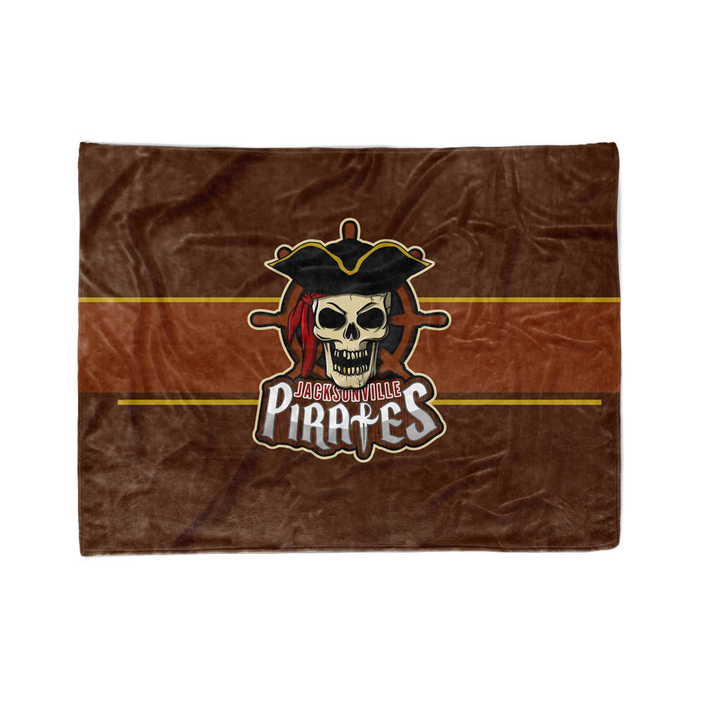 Jacksonville Pirates Blanket