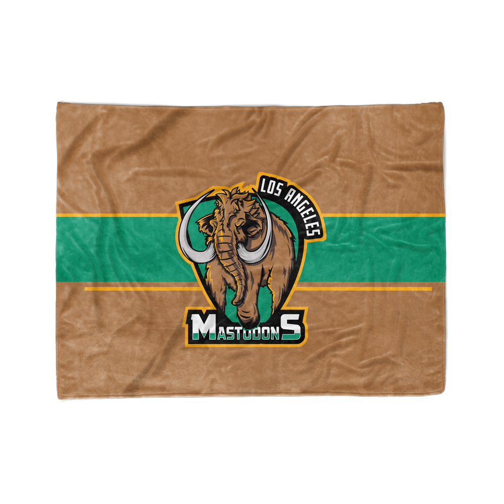 Los Angeles Mastodons Blanket