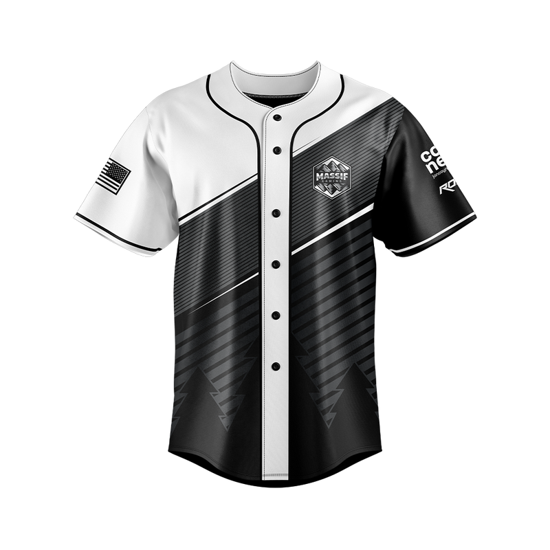 Massif Gaming Baseball Jersey