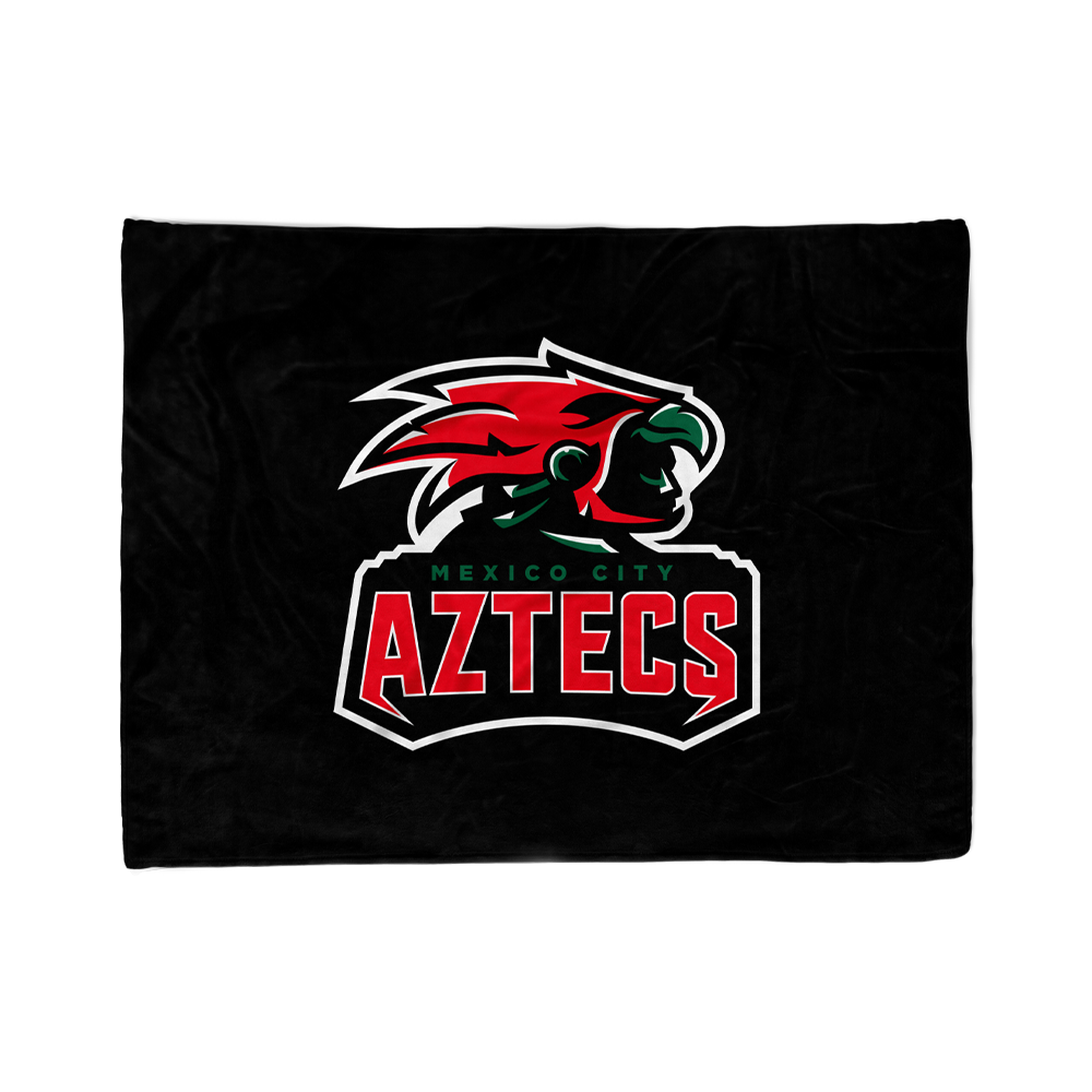 Mexico City Aztecs Blanket