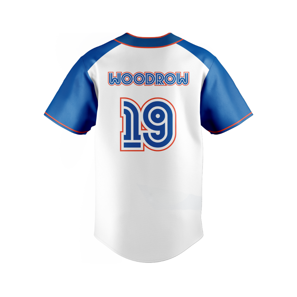 SMB3 - Moonstars - WOODROW Baseball Jersey