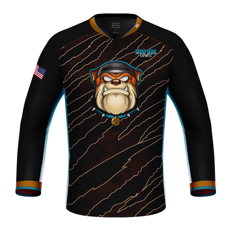 Mud Dog Esports Long Sleeve Pro Jersey