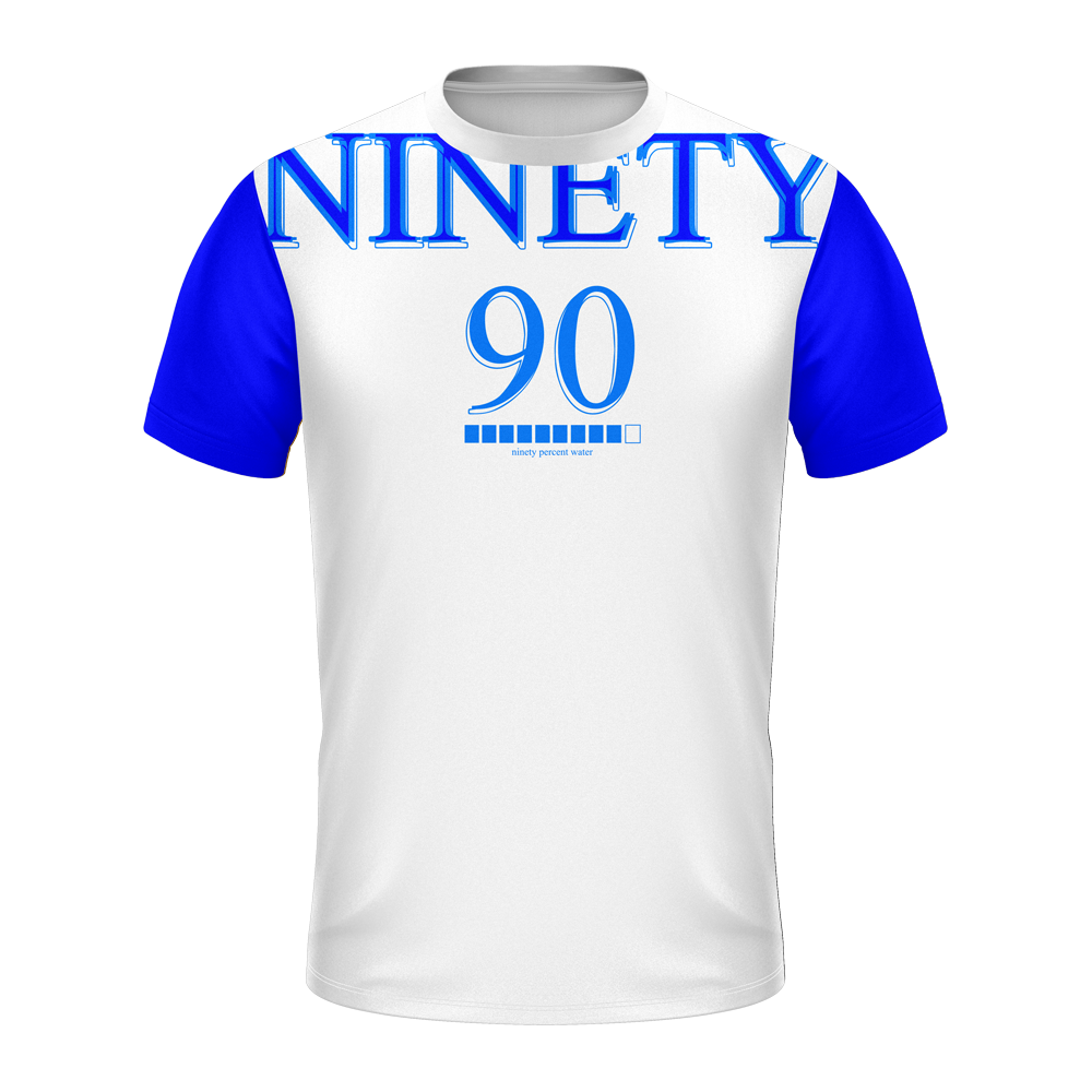 TGreyyy 90 Percent Water Soft Tech Shirt