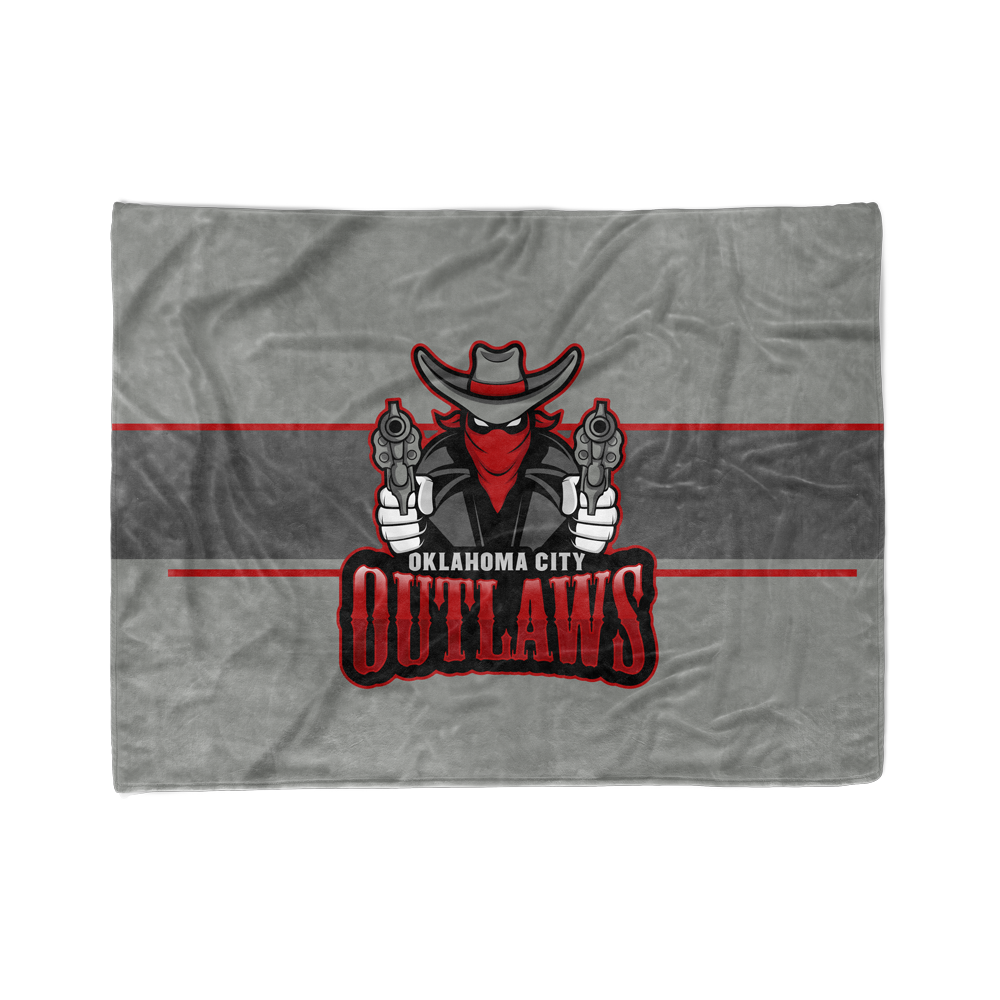 Oklahoma City Outlaws Blanket