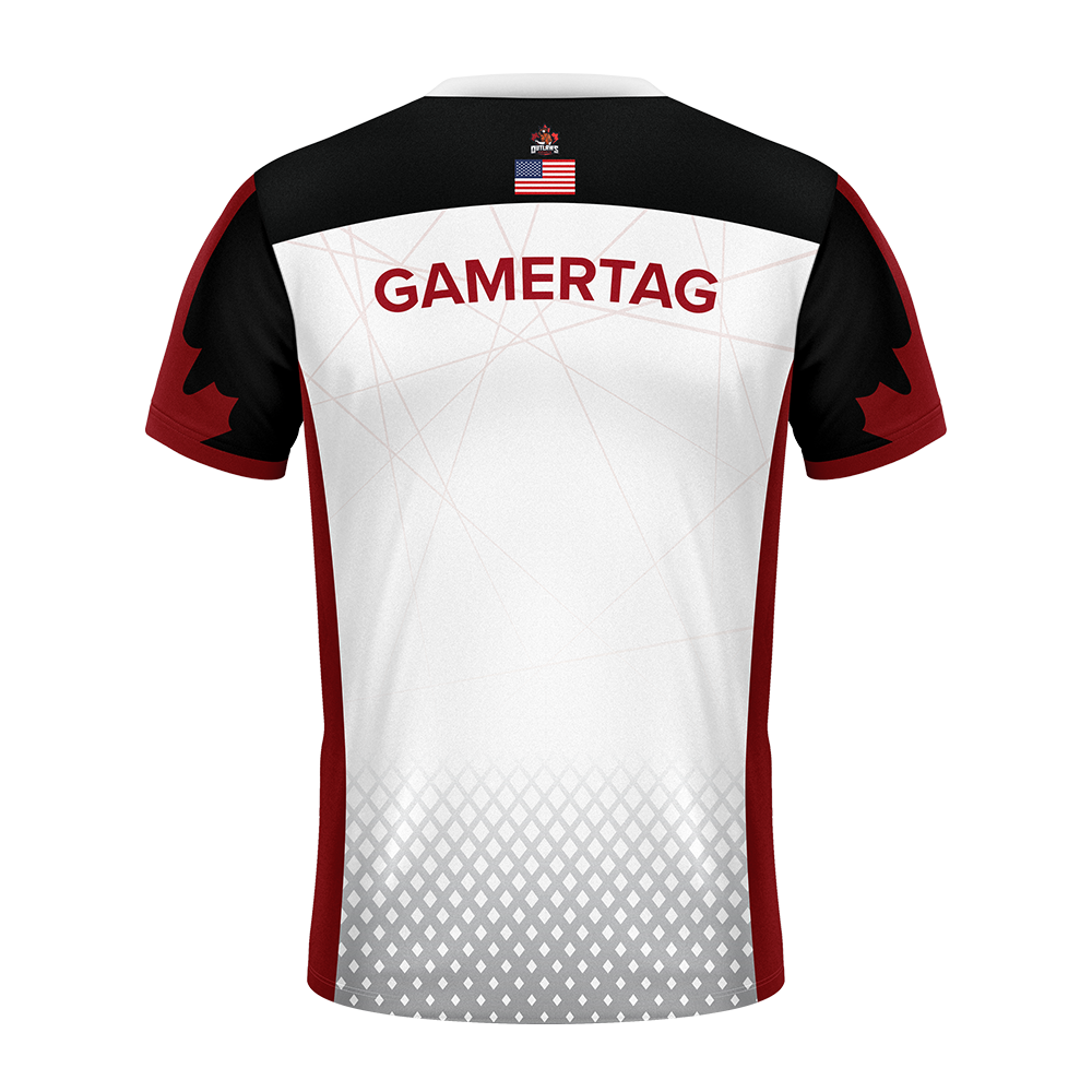 Outlaws Esports Pro Jersey White