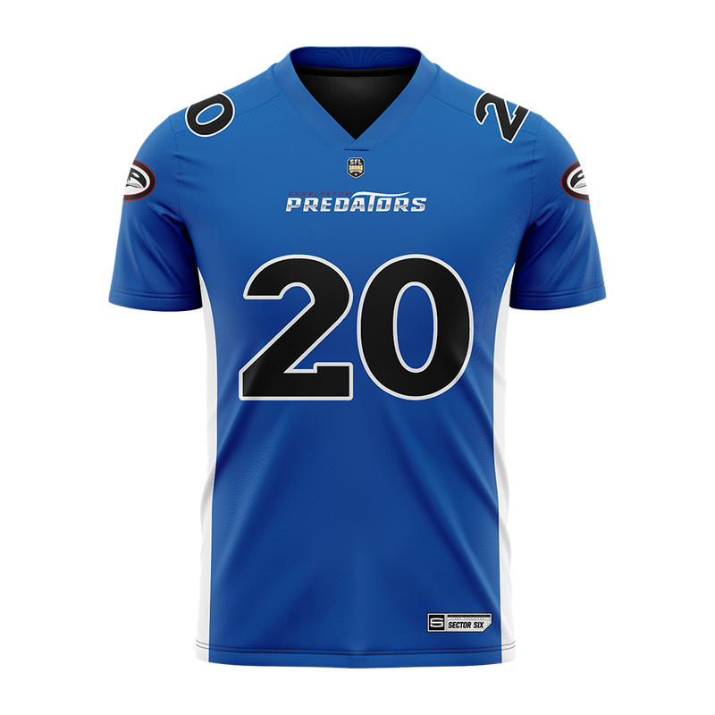 Charleston Predators Replica Football Jersey