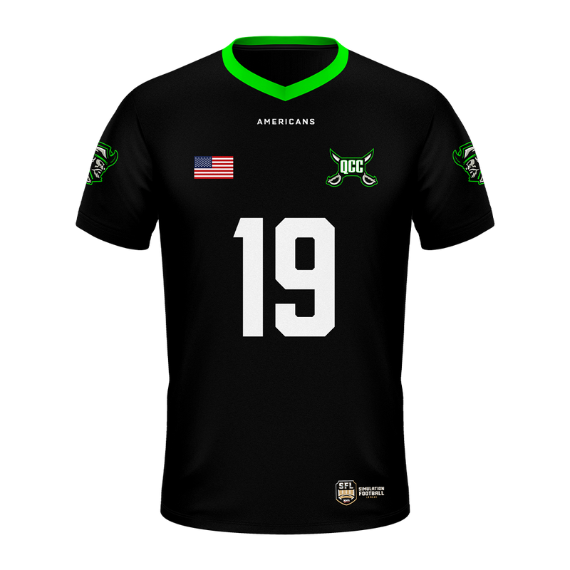 Queen City Corsairs Jersey