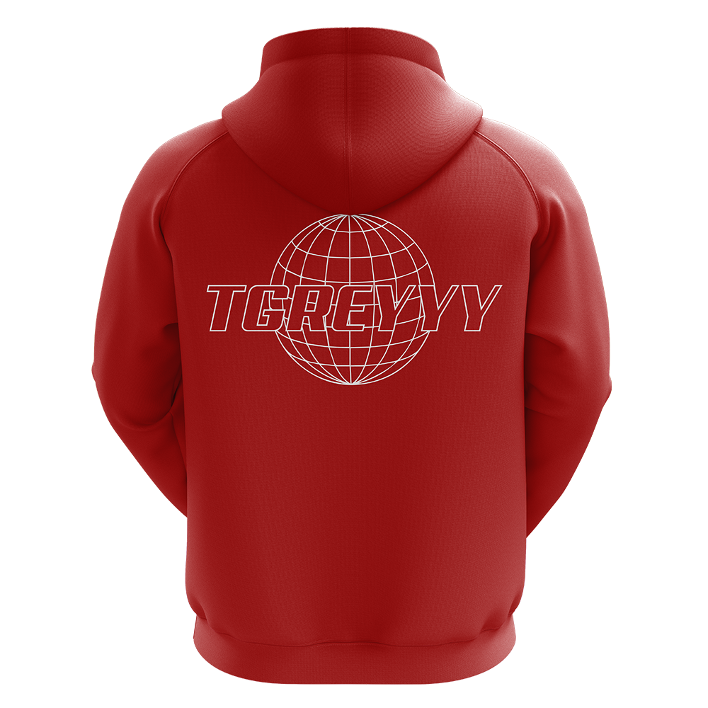 TGreyyy Red Pro Hoodie