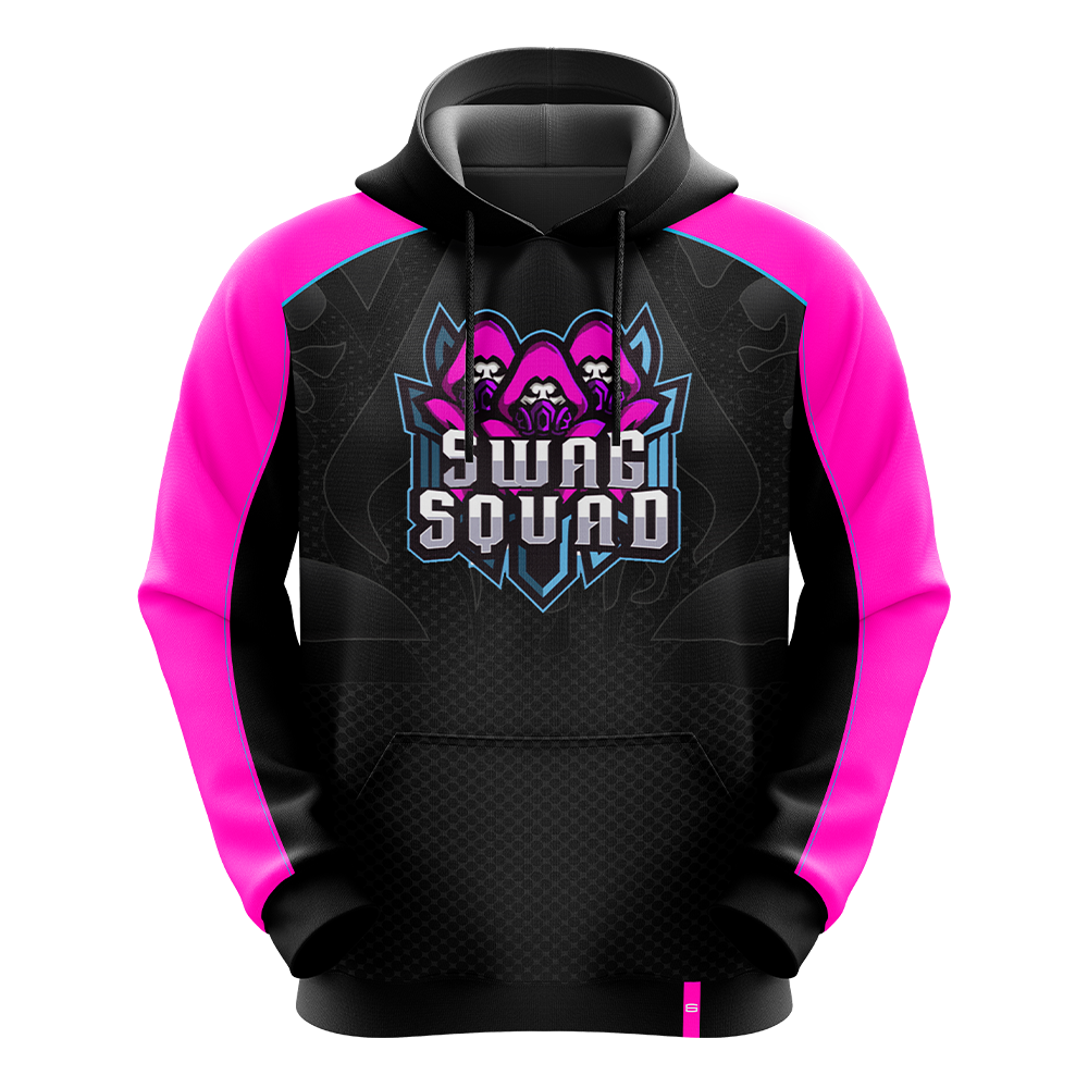 Swag Squad Pink Pro Hoodie