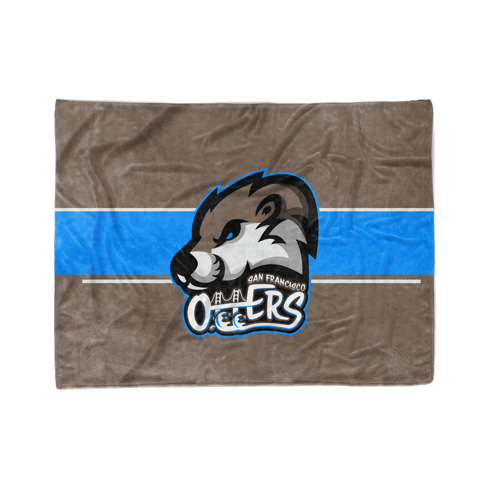 San Francisco Otters Blanket