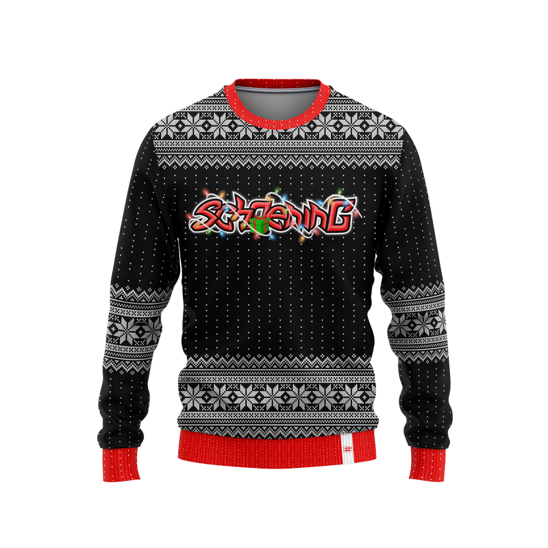 sch0ening Christmas Sweater