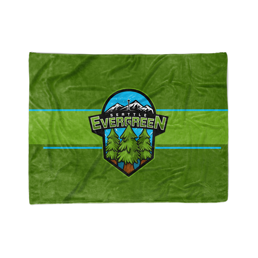 Seattle Evergreen Blanket