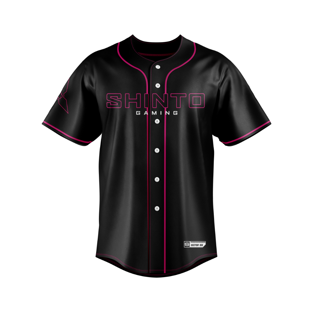 Shinto Gaming Baseball Jersey