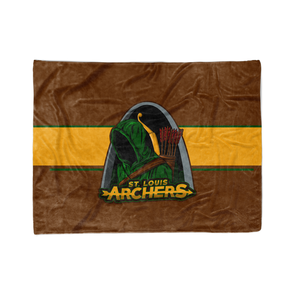 St Louis Archers Blanket