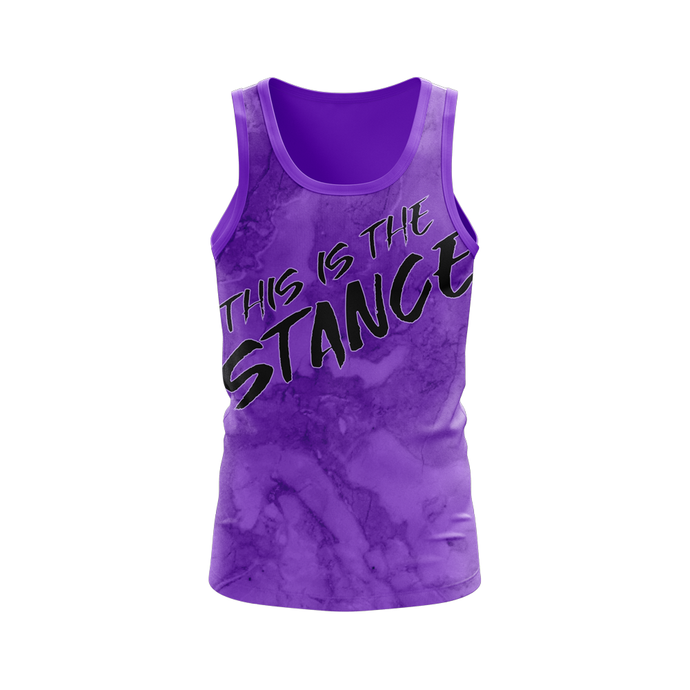 Rex Regalis - ThisIsTheStance Performance Tank Top