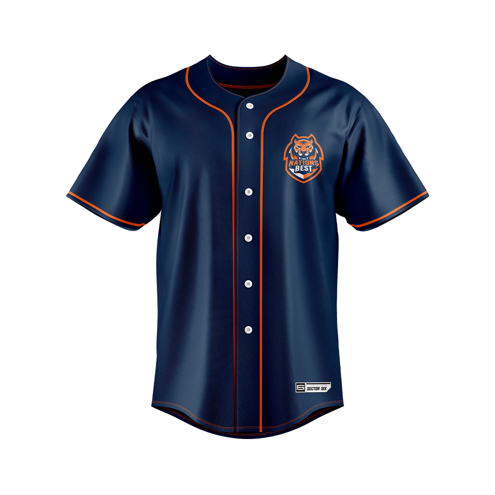 The Nations Best Baseball Jersey