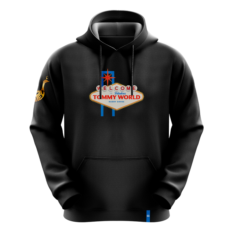 Welcome to Tommy World Pro Hoodie