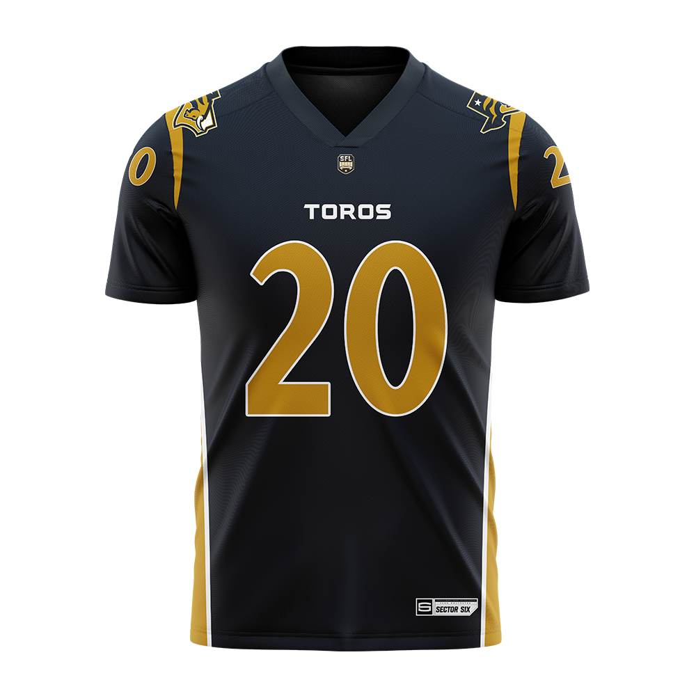 Fort Worth Toros Replica Football Jersey
